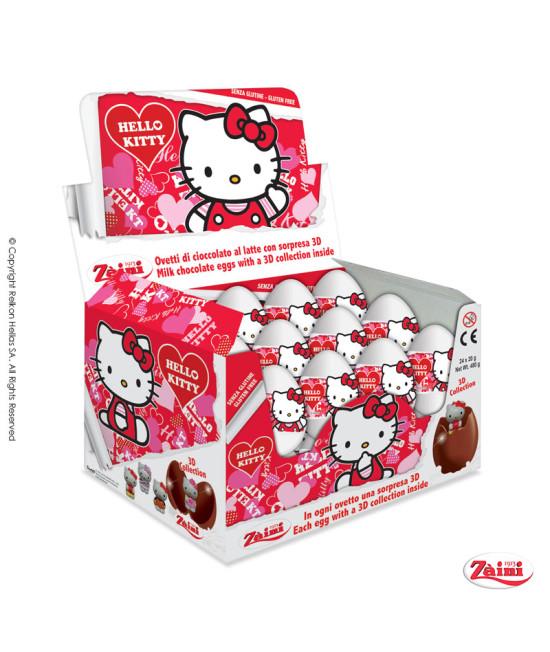 Σοκολατένια Αυγά με έκπληξη Hello Kitty