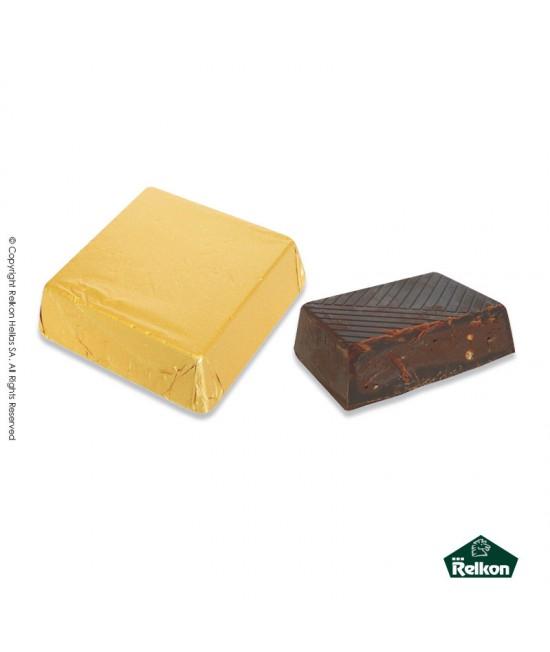 Τετράγωνο Bitter Crispy (γέμιση πραλίνας αμυγδάλου και κρίσπυς) 1kg