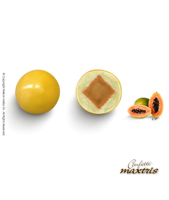 Πέρλες Maxtris (Φρούτα & Σοκολάτα) Παπάγια 1kg