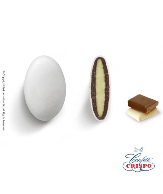 Κουφέτα Crispo Ciocopassion (Διπλή Σοκολάτα) Λευκό 1kg
