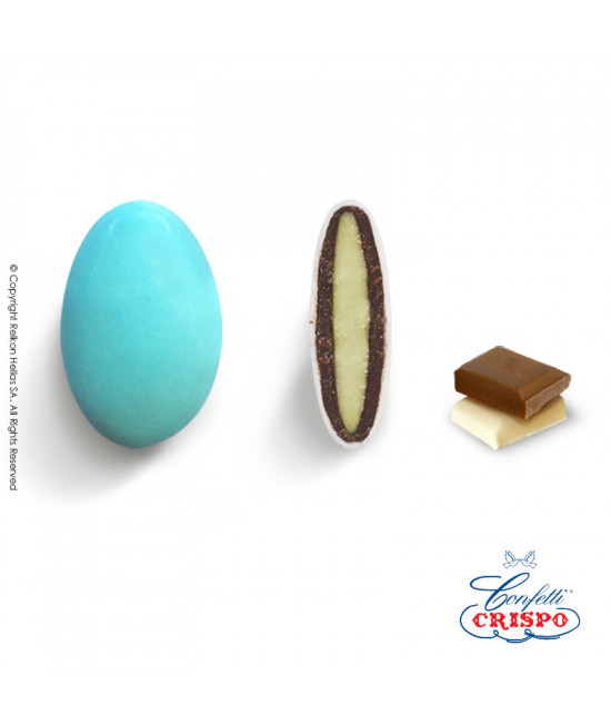 Κουφέτα Crispo Ciocopassion (Διπλή Σοκολάτα) Γαλάζιο 1kg