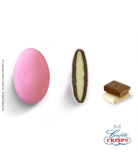 Κουφέτα Crispo Ciocopassion (Διπλή Σοκολάτα) Ροζ 1kg