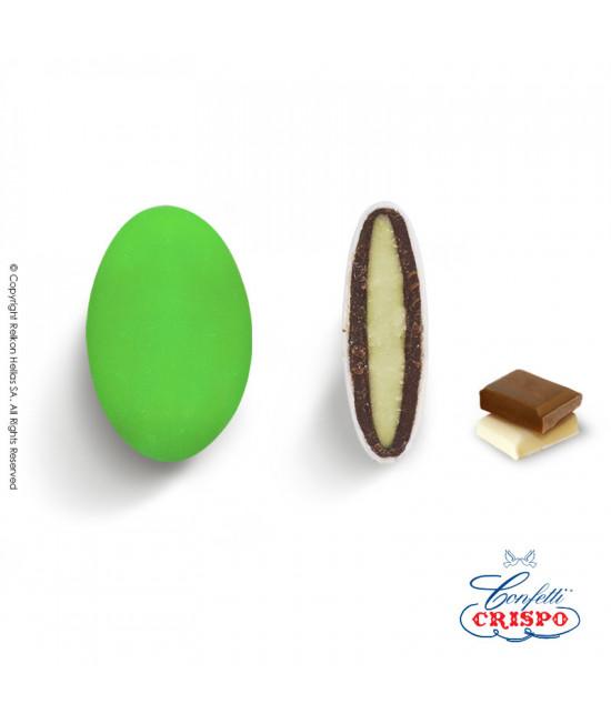 Κουφέτα Crispo Ciocopassion (Διπλή Σοκολάτα) Πράσινο 1kg