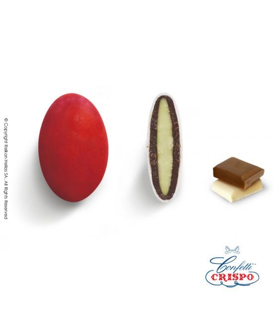 Κουφέτα Crispo Ciocopassion (Διπλή Σοκολάτα) Κόκκινο 1kg