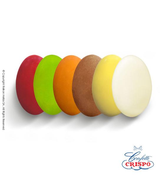 Κουφέτα Crispo Ciocopassion (Διπλή Σοκολάτα) Πολύχρωμο με γεύσεις 1kg