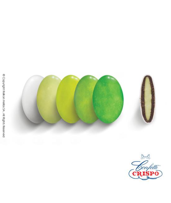 Κουφέτα Crispo Ciocopassion (Διπλή Σοκολάτα) Selection Πράσινο 1kg