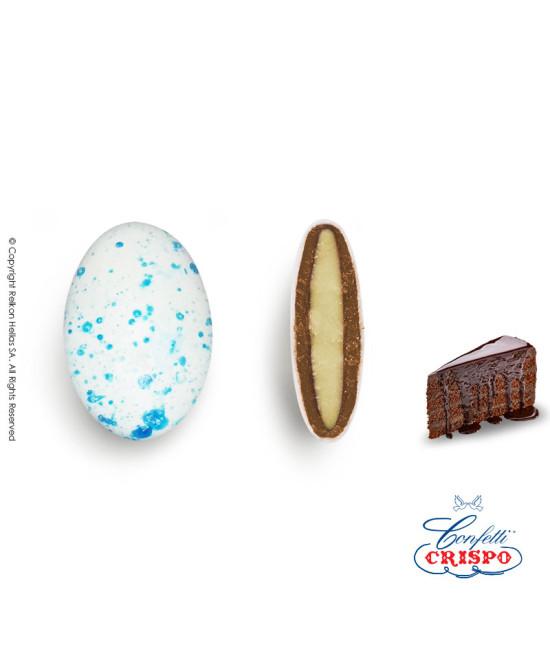Κουφέτα Crispo Ciocopassion (Διπλή Σοκολάτα) Splash Μπλε 1kg