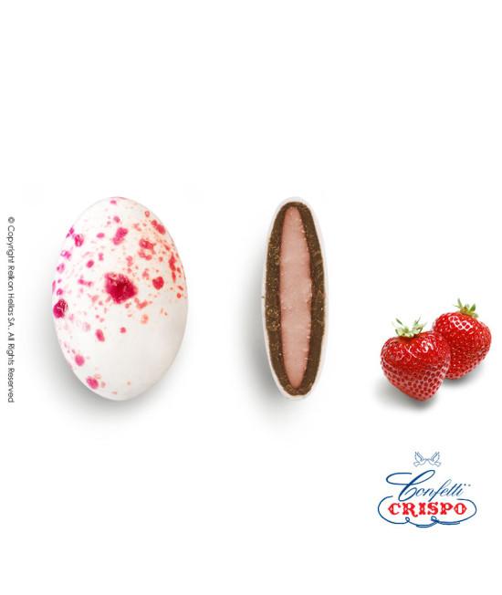 Κουφέτα Crispo Ciocopassion (Διπλή Σοκολάτα) Splash Ροζ 1kg