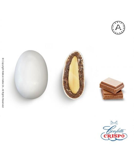 Κουφέτα Crispo Snob (Αμύγδαλο & Σοκολάτα) Σοκολάτα Γάλακτος 500g