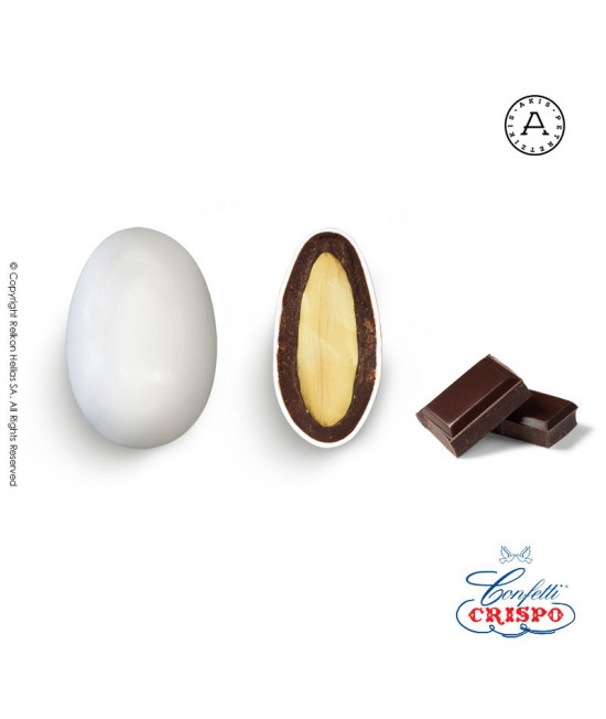Κουφέτα Crispo Snob (Αμύγδαλο & Σοκολάτα) Σοκολάτα Υγείας 500g