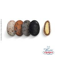 Κουφέτα Crispo Snob (Αμύγδαλο & Σοκολάτα) Βότσαλα Etna 500g