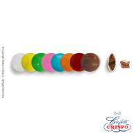 Κουφέτακια Crispo Μεγάλα (Σοκολάτα Γάλακτος) Πολύχρωμο 1kg