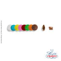 Κουφετάκια Crispo Μικρά (Σοκολάτα Γάλακτος) Πολύχρωμο 1kg