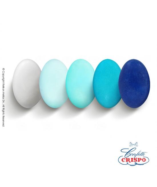 Κουφέτα Crispo Αποχρώσεις (Σοκολάτας υγείας) Choco Μπλε 1kg