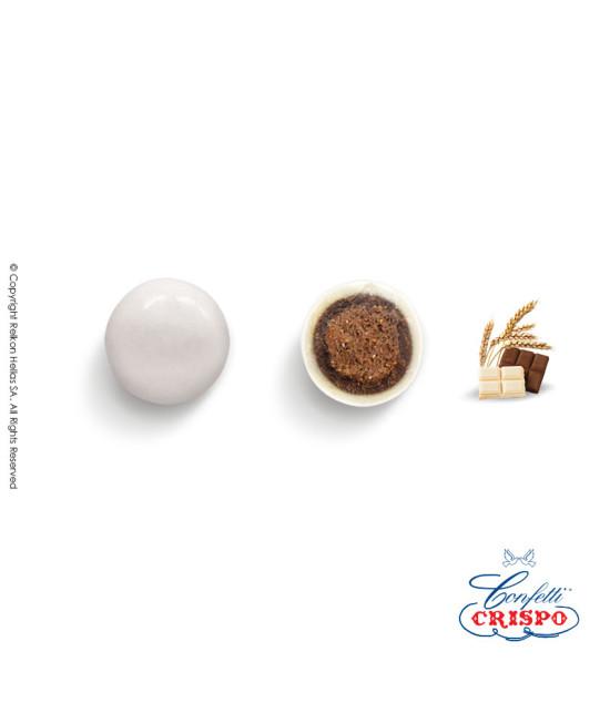 Κουφέτα Crispo Krixi (Δημητριακά & Διπλή Σοκολάτα) Λευκό 900g
