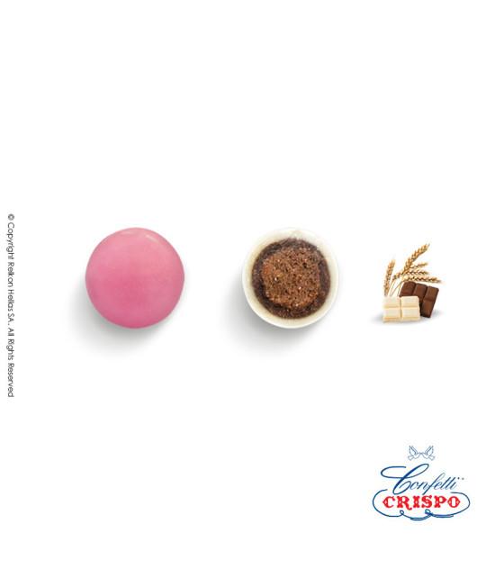 Κουφέτα Crispo Krixi (Δημητριακά & Διπλή Σοκολάτα) Ροζ 900g