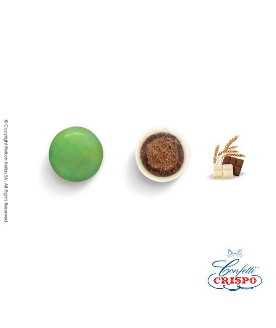Κουφέτα Crispo Krixi (Δημητριακά & Διπλή Σοκολάτα) Πράσινο 900g