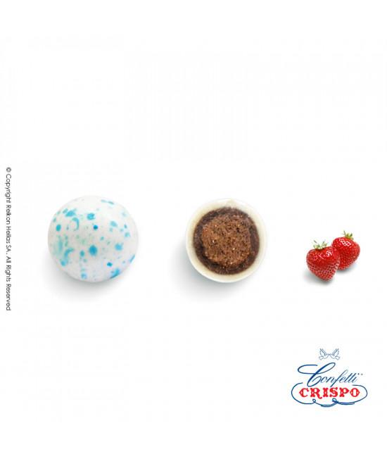 Κουφέτα Crispo Krixi (Δημητριακά & Διπλή Σοκολάτα) Splash Μπλε 900g