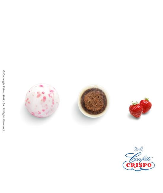 Κουφέτα Crispo Krixi (Δημητριακά & Διπλή Σοκολάτα) Splash Ροζ 900g
