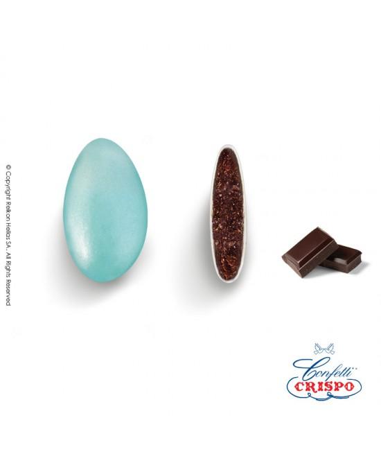 Κουφέτα Crispo Περλέ (Σοκολάτας υγείας) Γαλάζιο 500g