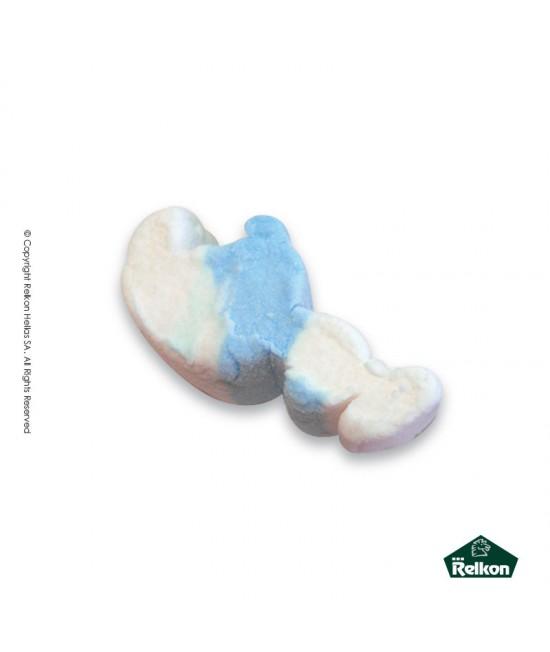 Marshmallow  Στρουμφάκι Μπλε - Λευκό 1kg