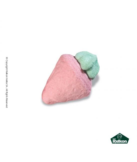 Ζαχαρωτό Marsmallow Φράουλα 3D 900g