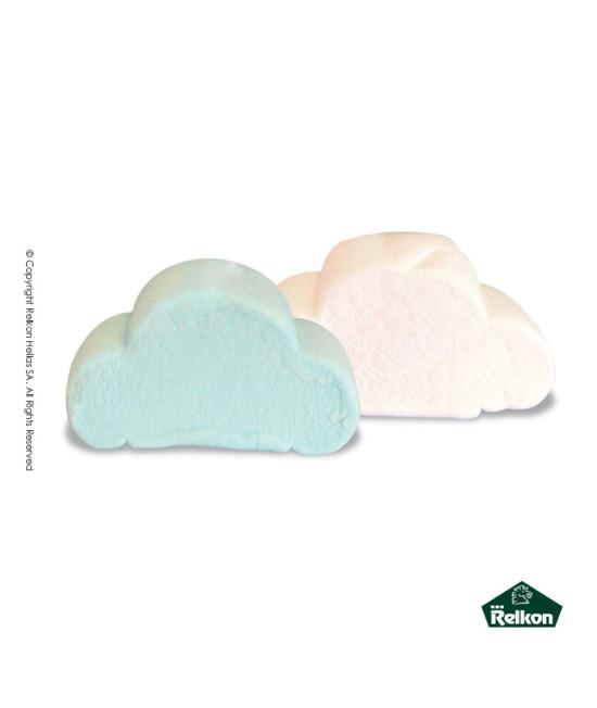 Marshmallow Σύννεφο Λευκό - Σιέλ 1kg