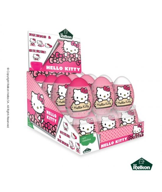 Μπομπονιέρα – Πλαστικό Αυγό Έκπληξη Hello Kitty