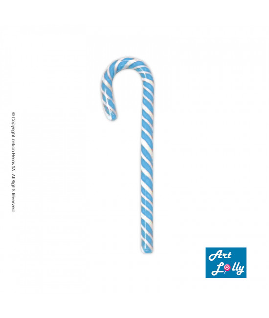Γλειφιτζούρια Μπαστουνάκια  Άσπρο - Μπλε 14g