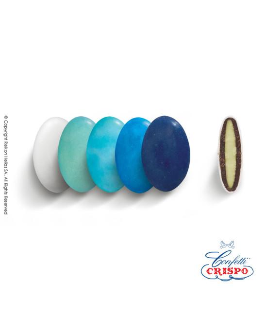 Κουφέτα Crispo Ciocopassion (Διπλή Σοκολάτα) Selection Μπλε 1kg