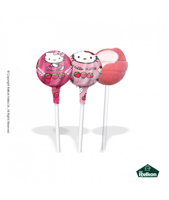 Hello Kitty Gum Lollipop 14g