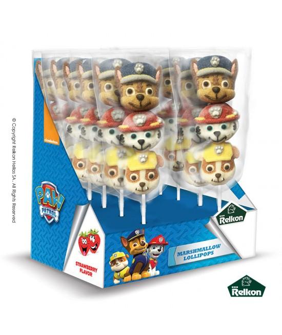 Paw Patrol marshmallow Γλειφιτζούρι 45g