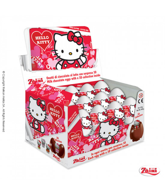 Chocolate Eggs with surprise Hello Kitty