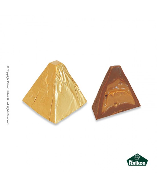 Milk Chocolate Almond Piramid (Milk chocolate, almond praline) 1kg