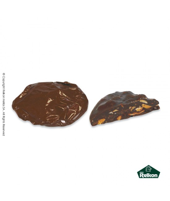 Bitter Almond Rock (Bitter chocolate, praline, dried fruit pieces) 1kg