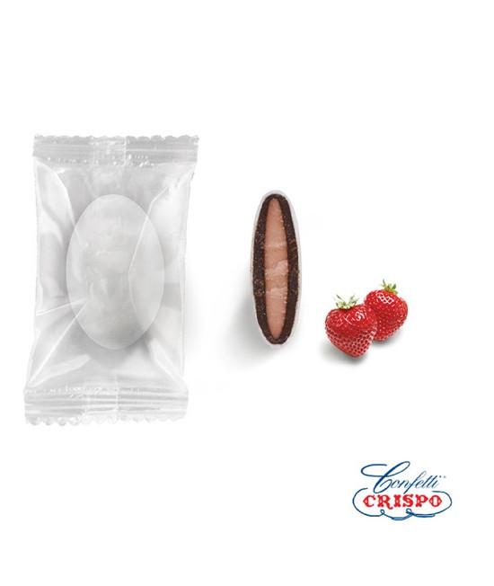 Κουφέτα Crispo Safe Pack (Διπλή Σοκολάτα) Φράουλα 0.9kg