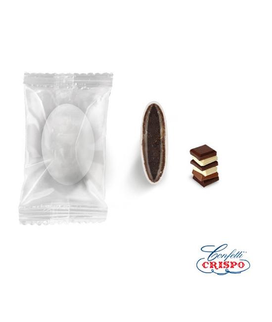 Κουφέτα Crispo Safe Pack (Διπλή Σοκολάτα) Τριπλή Σοκολάτα 0.9kg