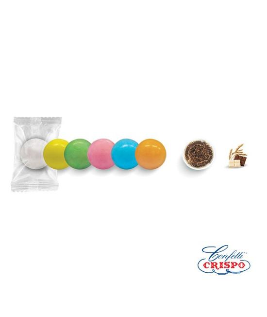 Κουφέτα Crispo Krixi Safe Pack (Δημητριακά & Διπλή Σοκολάτα) Πολύχρωμο 900g
