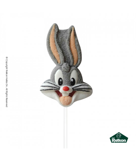 Looney Tunes Marshmallow Lollipop  45g