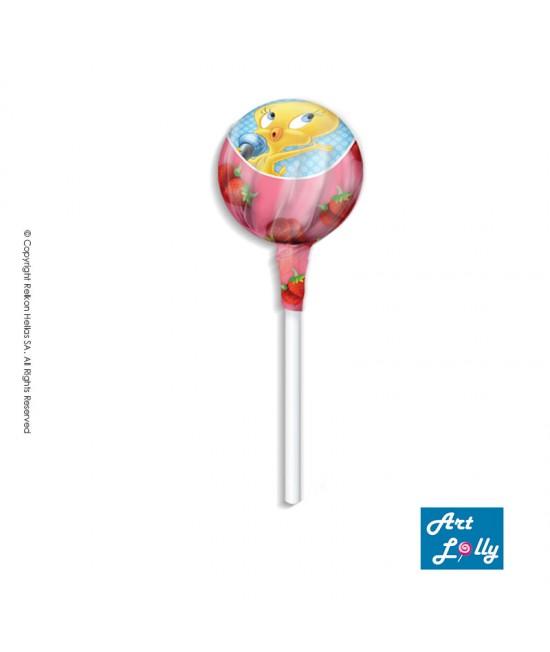 Looney Tunes Gum Lollipop 14g