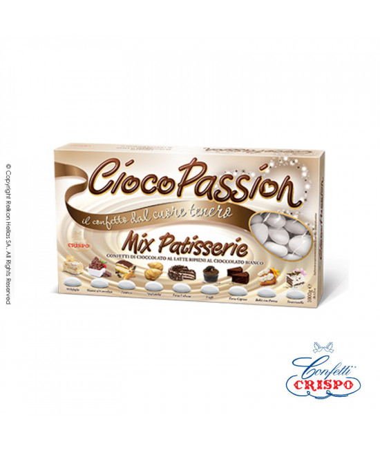 Confetti Crispo Ciocopassion (Double Chocolate) Multicolored 1kg