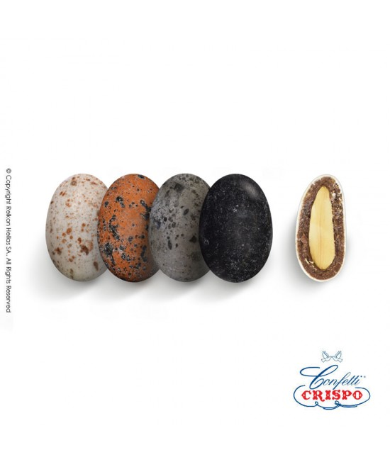 Confetti Crispo Snob (Almond & Chocolate) Etna Pebble 500g