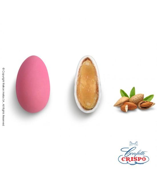 Κουφέτα Crispo Κλασσικά (Αμύγδαλο) Ροζ 1kg
