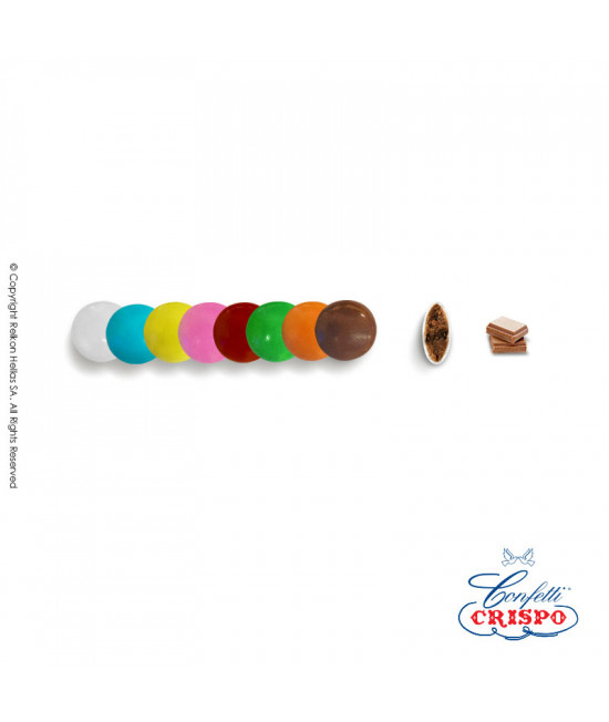 Lentils Crispo Mini (Milk Chocolate) Multicolored 1kg