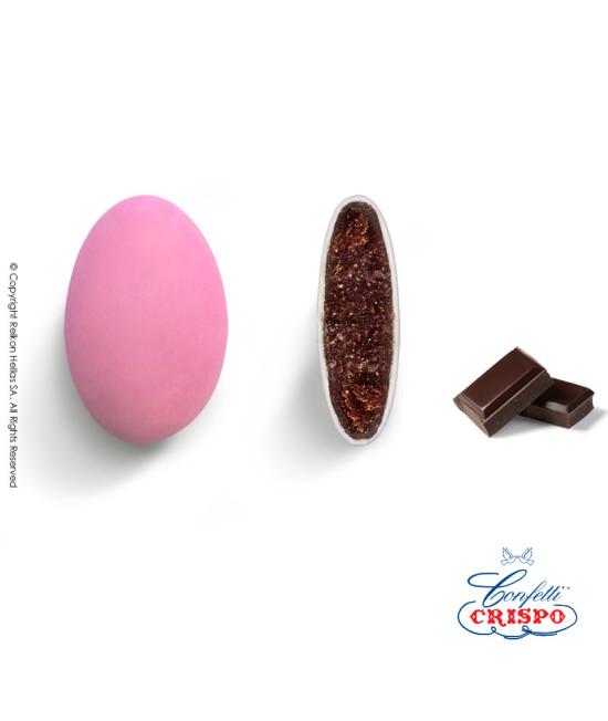 Confetti Crispo Choco (Bitter Chocolate) Pink 1kg