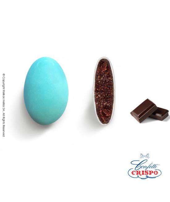 Confetti Crispo Choco (Bitter Chocolate) Light Blue 1kg