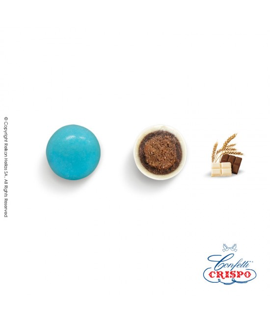 Confetti Crispo Krixi (Cereals & Double Chocolate) Light Blue 900g