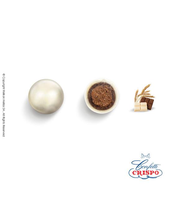 Confetti Crispo Krixi (Cereals & Double Chocolate) Pearl Ivory 900g