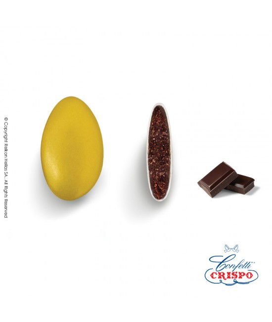 Confetti Crispo Perlati (Bitter Chocolate) Gold 500g