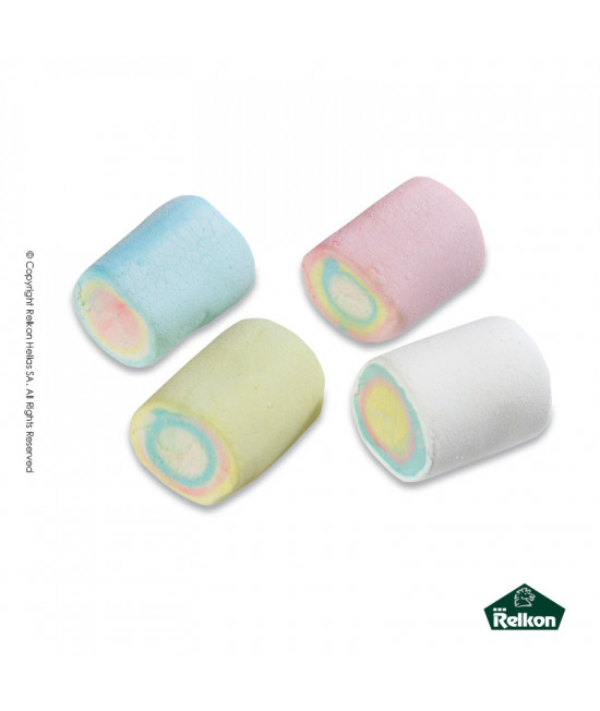 Marshmallow Cylinder Multicolored 1kg